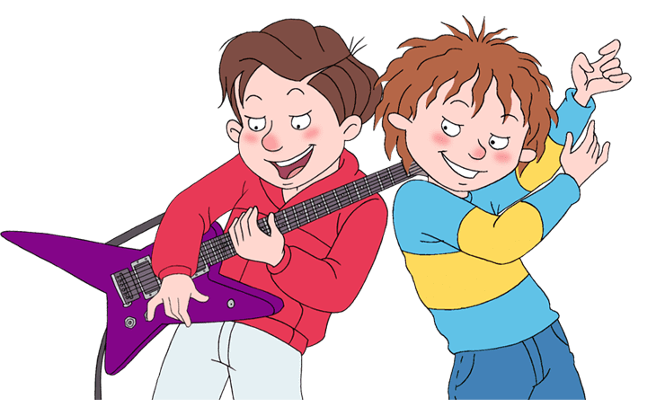 Horrid henry and ralf music