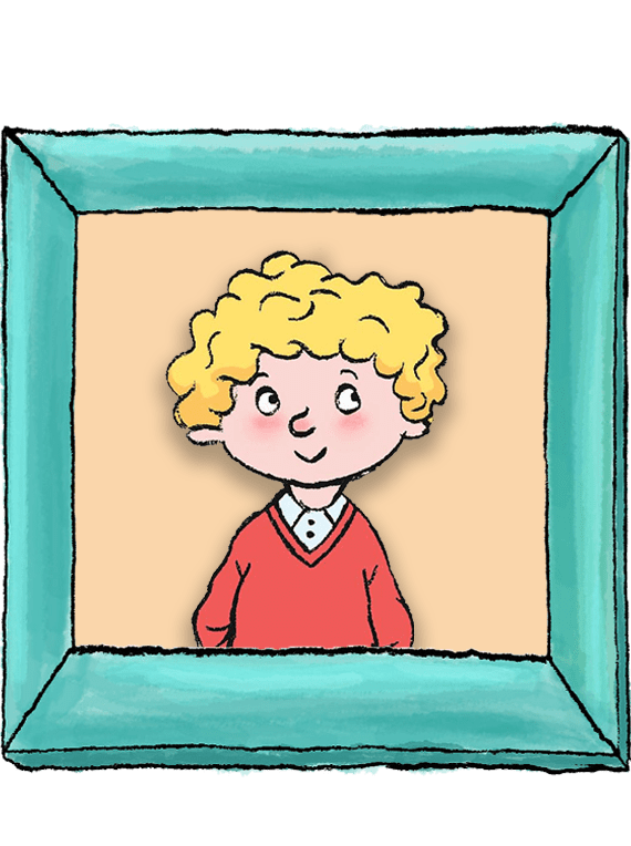 Horrid Henry Peter photoframe