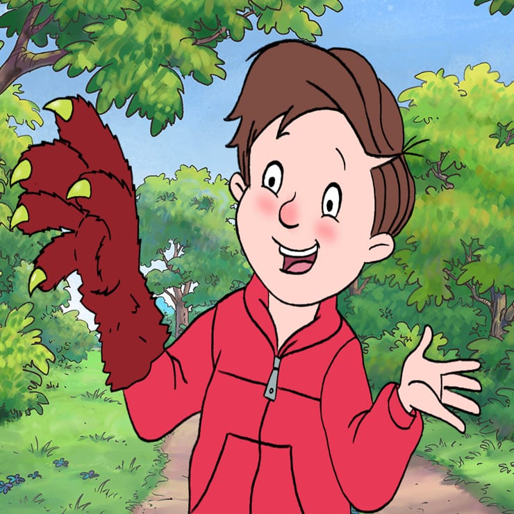 ralph with monster hands