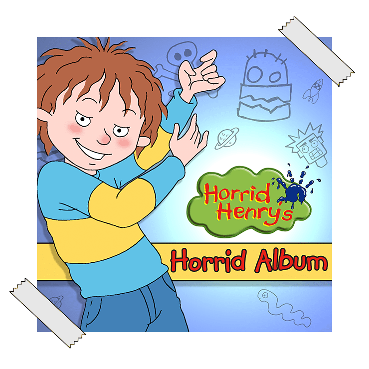 Horrid Henry most horrid album