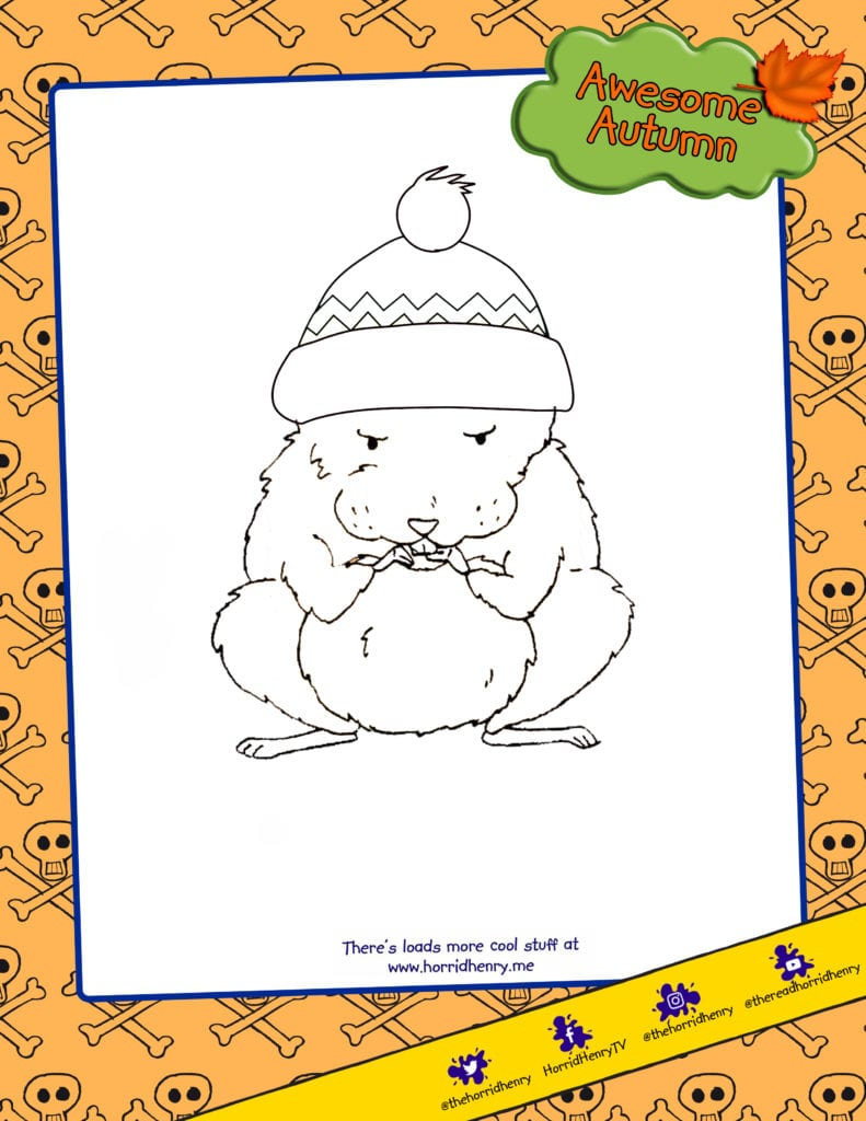 Fang Colour in activities for children